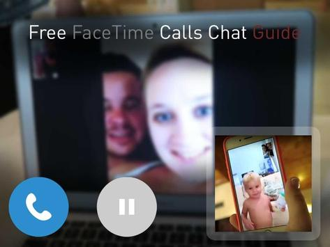 Free Facetime Calls Chat Guide poster