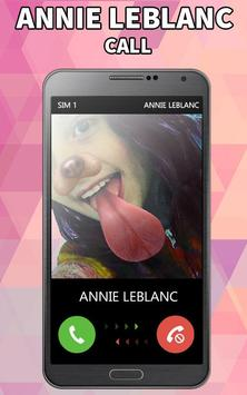 Call From Annie Leblanc Joke apk screenshot