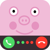 Call from George The Pig Prank icon