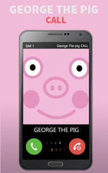 Call from George The Pig Prank apk screenshot