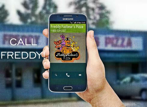 Call Freddy Fazbear's Pizza poster