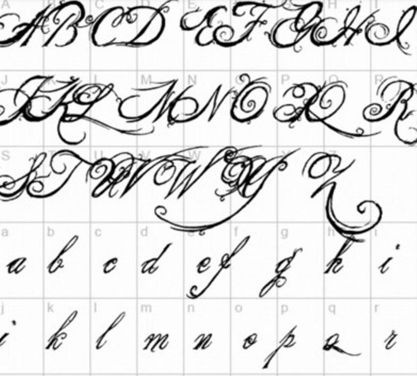 Kaligrafia Tatuaż Czcionki 16 For Android Apk Download