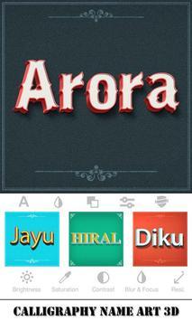 Calligraphy Name Art 3D screenshot 3