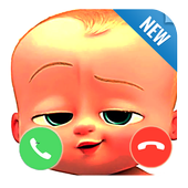 Fake call From Baby Boss icon