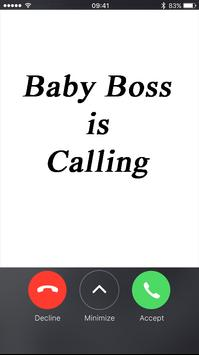 Fake call From Baby Boss poster
