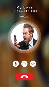 Calling prank angry boss screenshot 1