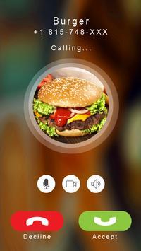 Burger Calling Prank poster