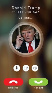 Calling Prank Donald Trump poster