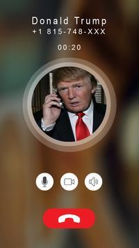 Calling Prank Donald Trump apk screenshot