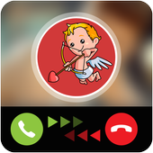 Fake Call Cupid icon