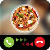 Pizza calling prank icon