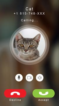 Talking Cat Calling Prank poster