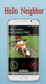 Call from Killer Neighbor Joke screenshot 3