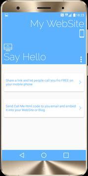 Phone calls from Link apk screenshot