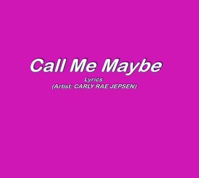 Call Me Maybe apk screenshot