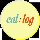 Calendar Logging (cal+log) icon