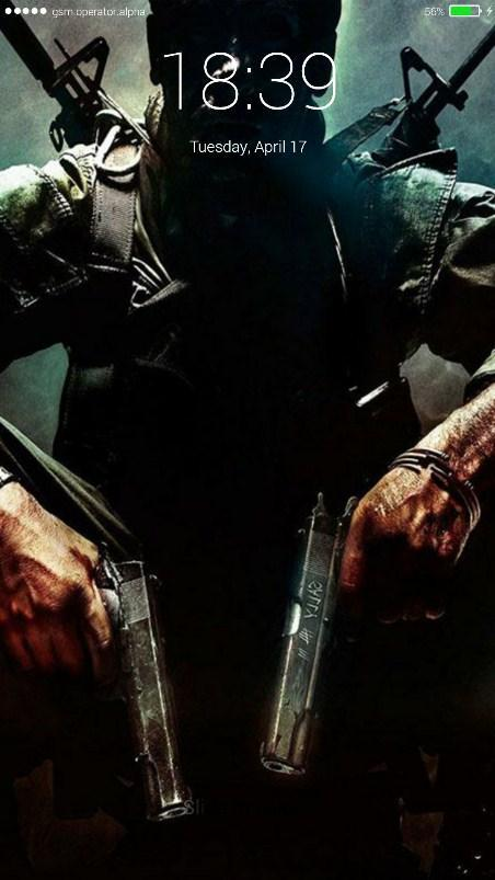 Call Of Duty Lock Screen For Android Apk Download