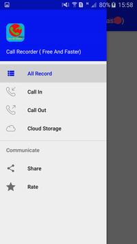 Call Recorder ( Free And Faster) apk screenshot