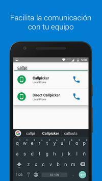 Callpicker apk screenshot