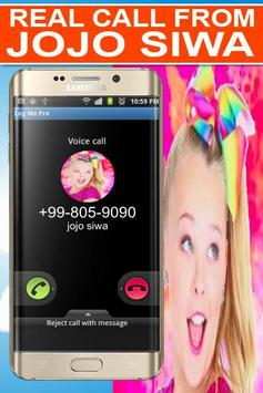 Real Call From Jojo Siwa Prank poster