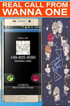 Real Call From Wanna One Prank poster