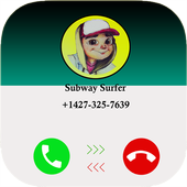 Call From Subway Surfer simulator icon
