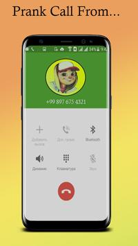 Call From Subway Surfer simulator poster