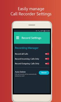 Auto Call Recorder: Call Recording App For Android screenshot 3