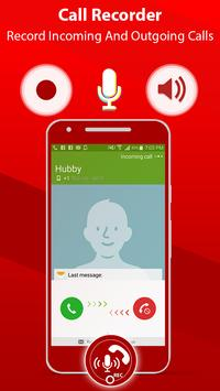 Call Recorder free: Automatic call recorder 2018 poster