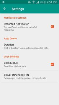 Euro Call Recorder-ECR apk screenshot