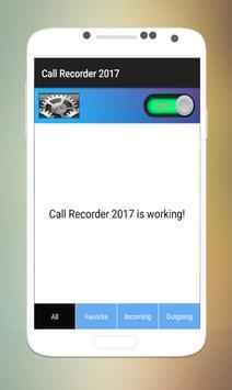 Call Recorder 2017 Pro screenshot 1
