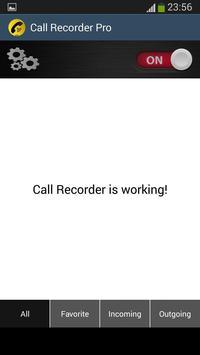 Call Recorder Automatic 2016 screenshot 1