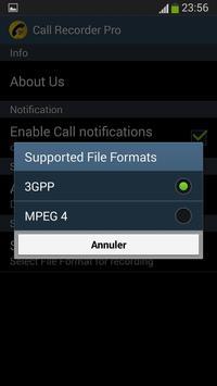 Call Recorder Automatic 2016 screenshot 2