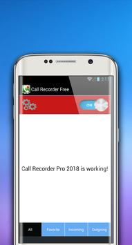 Call Recorder Free screenshot 1