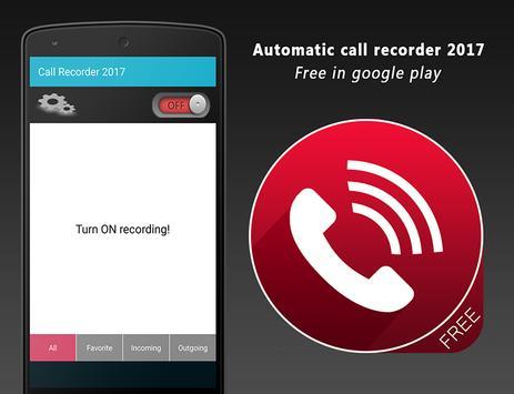 call recorder 2017 apk screenshot