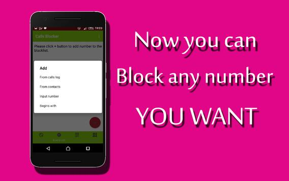 call blocker free screenshot 1