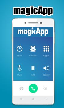 Free magicApp Calling Guide poster