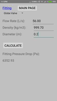 Quick Pump Loss Calculator 1.0 screenshot 3
