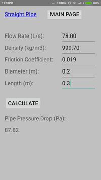 Quick Pump Loss Calculator 1.0 screenshot 1