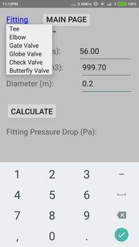 Quick Pump Loss Calculator 1.0 screenshot 2