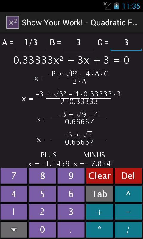 how to solve quartic equations calculator