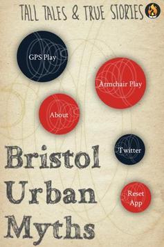 Bristol Urban Myths poster