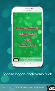 Bahasa Inggris Anak : Nama Buah apk screenshot