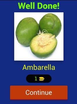 Lets Learn English Fruit Name apk screenshot