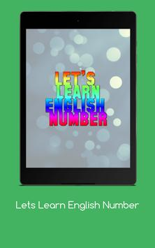 Lets Learn English Number screenshot 18