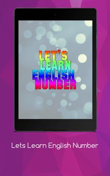 Lets Learn English Number screenshot 11