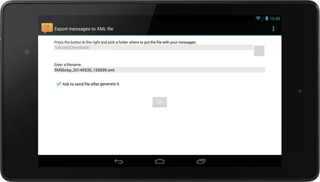 SMS Backup FREE screenshot 10
