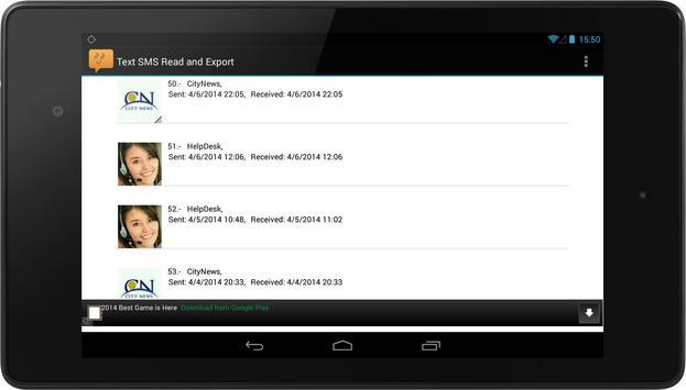 SMS Backup FREE screenshot 7