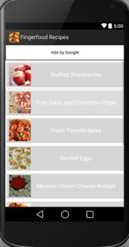 Fingerfood apk screenshot