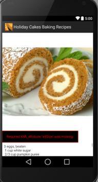 Holiday Cakes apk screenshot